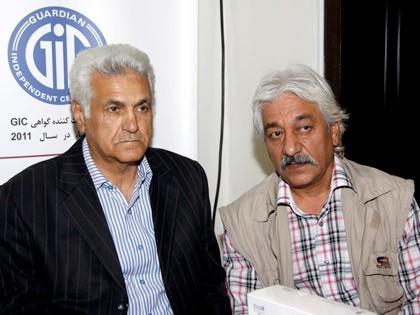 مسعود مبارکی و امیر تاجیک