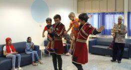 گزارش تصویری حضور گروه جشنواره آئینی- سنتی در محک
