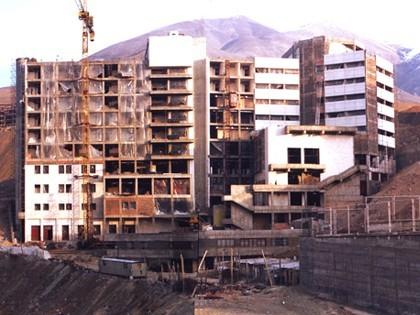 ساختمان بیمارستان محک در حال ساخت- 1380