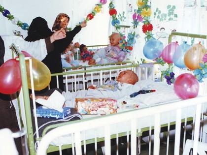 جشن تولد کودکان محک- بیمارستان علی اصغر- 1377