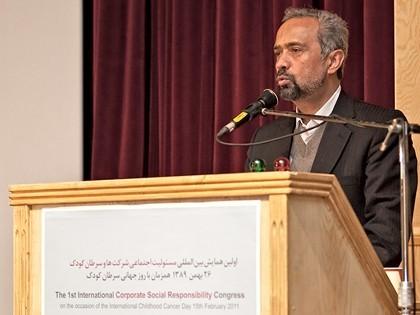 مایش CSR در محک دکتر محمد نهاوندیان رئیس هیات مدیره اتاق بازرگانی و صنایع و معادن ایران
