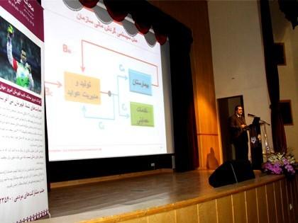 دومین همایش مسئولیت اجتماعی سازمانها و سرطان کودک مهندس آراسب احمدیان؛ مدیرعامل محک
