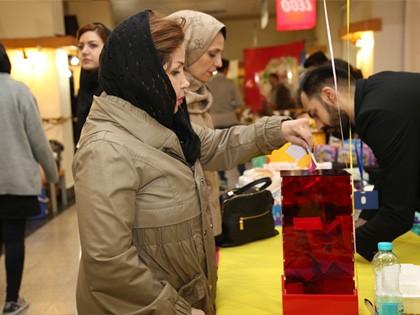 حضور یاوران در نخستین روز جشنواره مواد غذایی محک