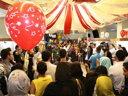 حضور یاوران کودکان مبتلا به سرطان محک در روز دوم بازار قلک شکان