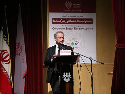 مهندس احمد پورفلاح، دبیر چهارمین همایش مسئولیت اجتماعی شرکتها