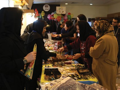 حضور یاوران محک در اولین روز بازار هدایای نوروزی