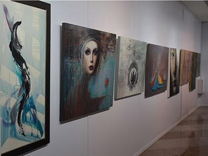 گزارش تصویری افتتاح نمایشگاه هنرهای تجسمی رنگ عشق2