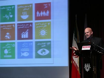 گری لوئیس، نماینده مقیم سازمان ملل متحد (UN) در ایران