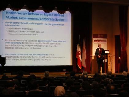 دكتر ثمين صديقي، نماينده مقيم سازمان بهداشت جهاني (WHO) در ايران