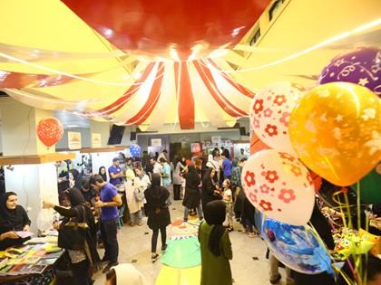 حضور یاوران محک در روز اول بازار قلک شکان