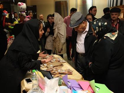 گزارش تصویری روز دوم بازار هدایای نوروزی محک