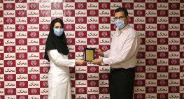 بیمارستان محک موفق به دریافت تقدیرنامه معاونت بهداشت دانشگاه شهید بهشتی
